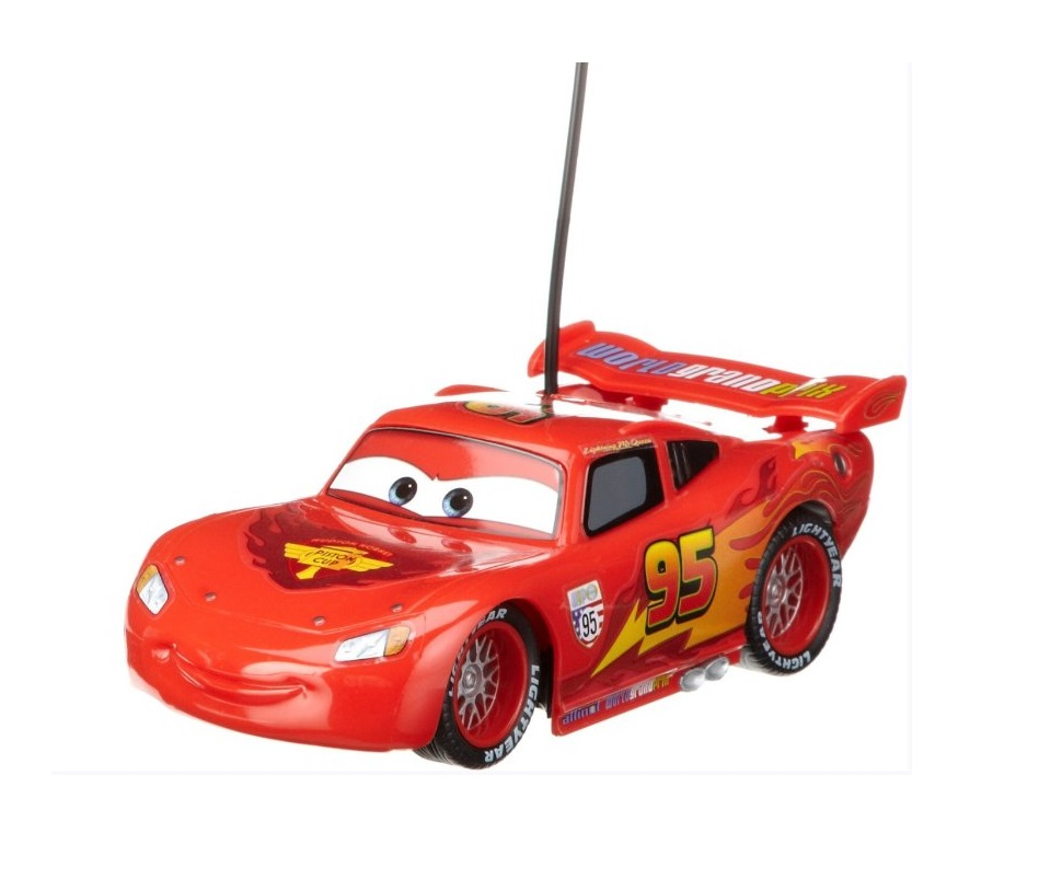dickie spielzeug 203089501 disney cars 1 rc lightning mcqueen ferngesteuertes auto. Black Bedroom Furniture Sets. Home Design Ideas
